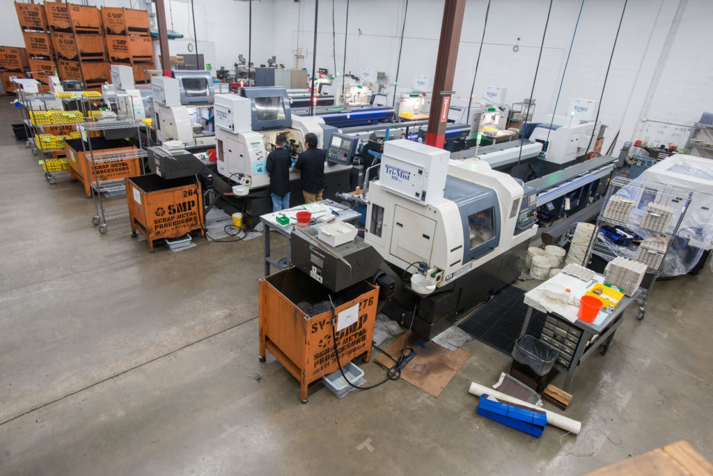 High precision production - Lights Out Manufacturing - KSI Swiss